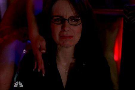 Liz Lemon at a Strip Club