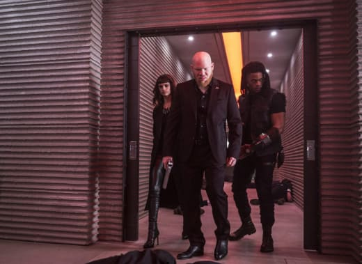 The Three Villains Unite - Black Lightning Season 1 Episode 13