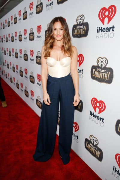 Minka Kelly Attends 2016 iHeartCountry Festival