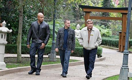 Sam and G Take a Walk
