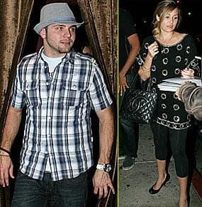 Chris Richardson and Lauren Conrad