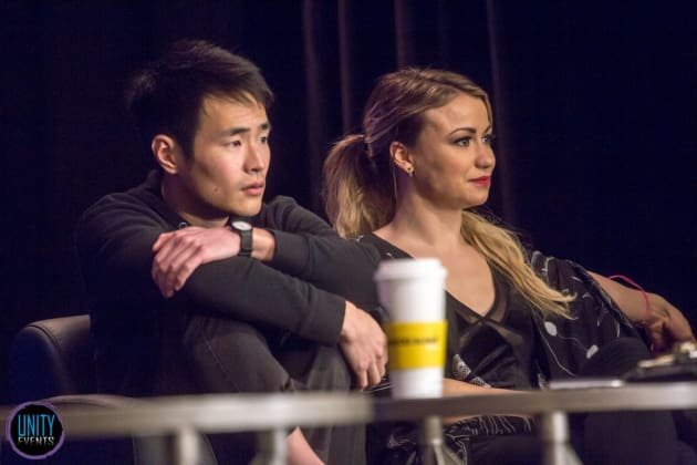 Christopher Larkin, Chelsey Reist - Unity Days - The 100