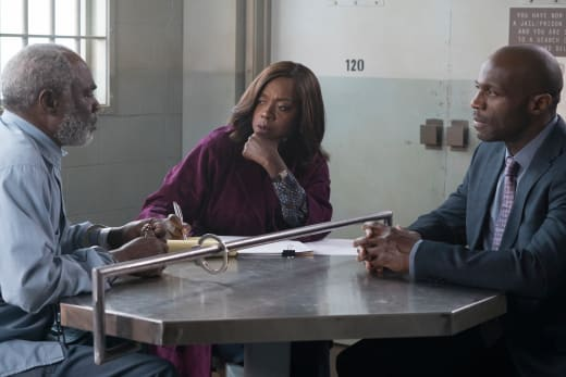 Helping The Father - How to Get Away with Murder Season 4 Episode 12