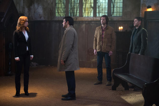 Facing off against a pirate? - Supernatural Season 12 Episode 10