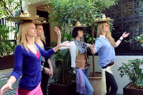 Tea Tray-Balancing Dance