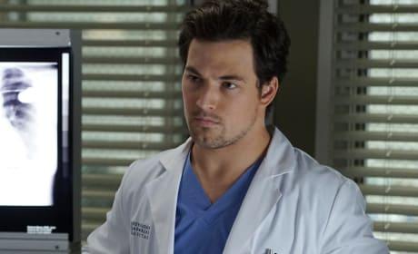Serious DeLuca - Grey's Anatomy Season 13 Episode 14