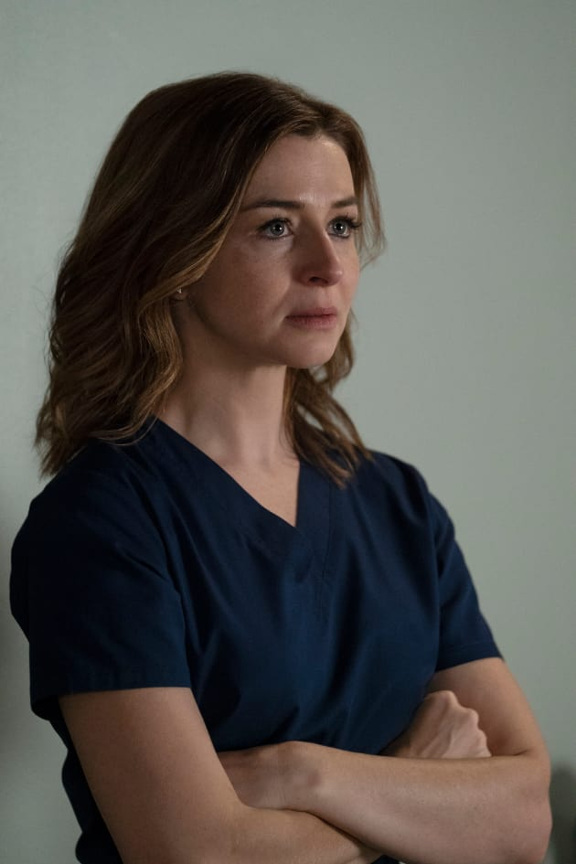 Amelia Learns the Truth - Grey's Anatomy Season 15 Episode 9