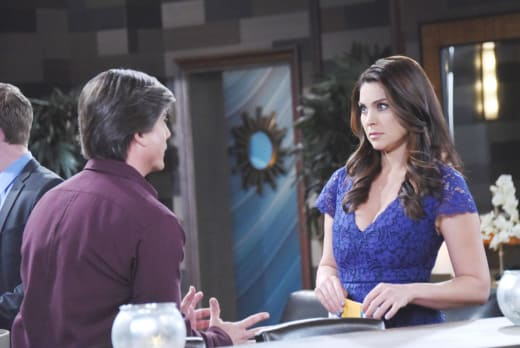Lucas and Chloe Argue - Days of Our Lives