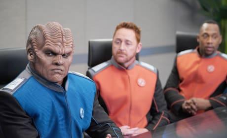 Three Musky-Dudes - The Orville Season 2 Episode 1