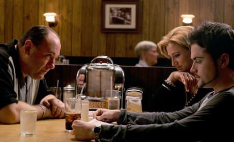 The Sopranos Finale Scene