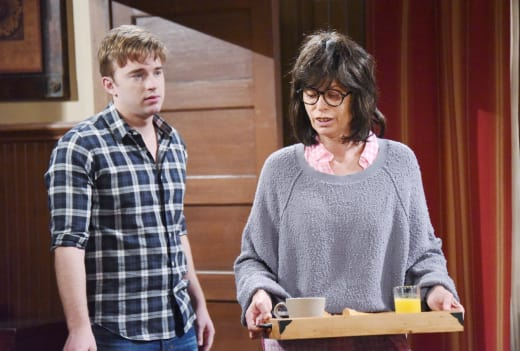 Will Begins To Question Susan - Days of Our Lives