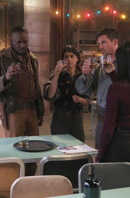 To Garcia Flynn - Timeless Season 3 Episode 1