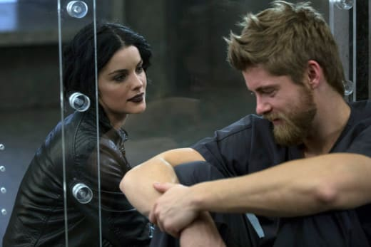 Jane and Roman Share a Moment - Blindspot Season 2 Episode 12