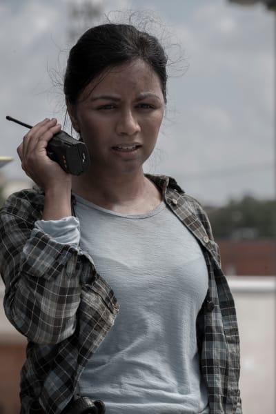 Grace Talks to Morgan - Fear the Walking Dead Season 5 Episode 14