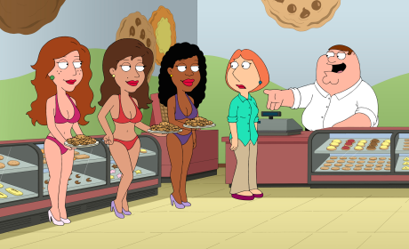 Scaring Up Customers - Family Guy