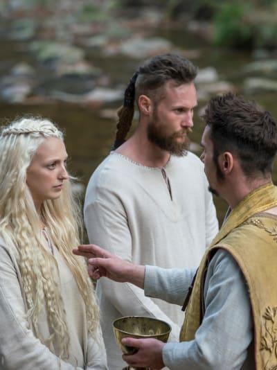 Baptized - Vikings Season 5 Episode 13