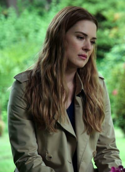 Mel at Grave TALL - Virgin River Season 2 Episode 1