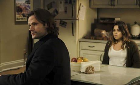 Sam waits for an answer - Supernatural Season 12 Episode 15
