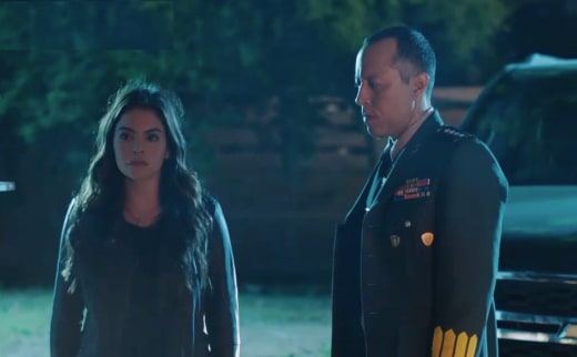 Isabela and General Cortez - Queen of the South Season 3 Episode 8