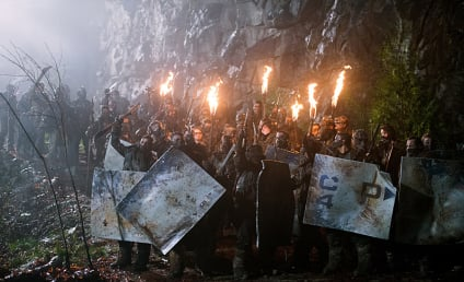 The 100 Season 2 Episode 15 Photo Gallery: The Forecast Calls for Blood