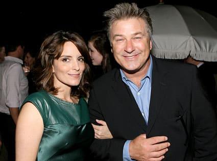 Alec Baldwin and Tina Fey