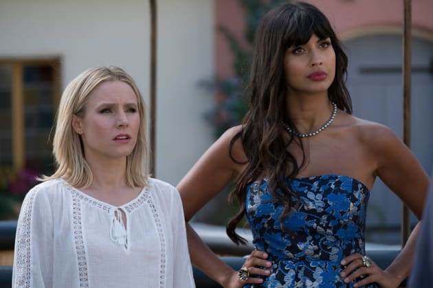 Eleanor and Tahani - The Good Place Season 2 Episode 10