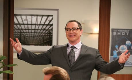 President Siebert - The Big Bang Theory Season 12 Episode 23