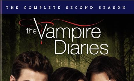 The Vampire Diaries Season 2 DVD