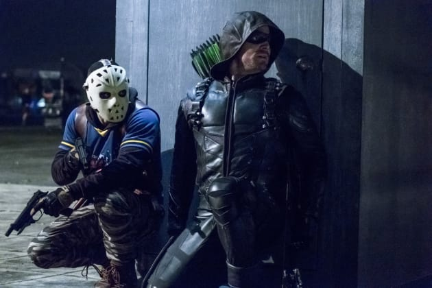 Another Ambush? - Arrow Season 5 Episode 11
