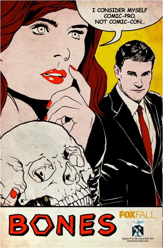 Bones Comic-Con Poster