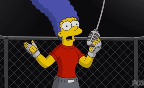 Marge Takes the Mic