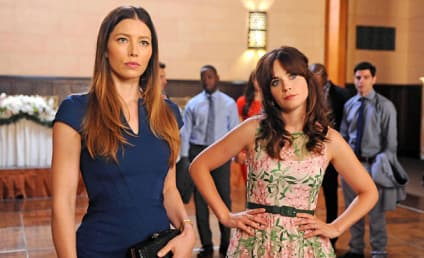 Jessica Biel on New Girl: First Look!