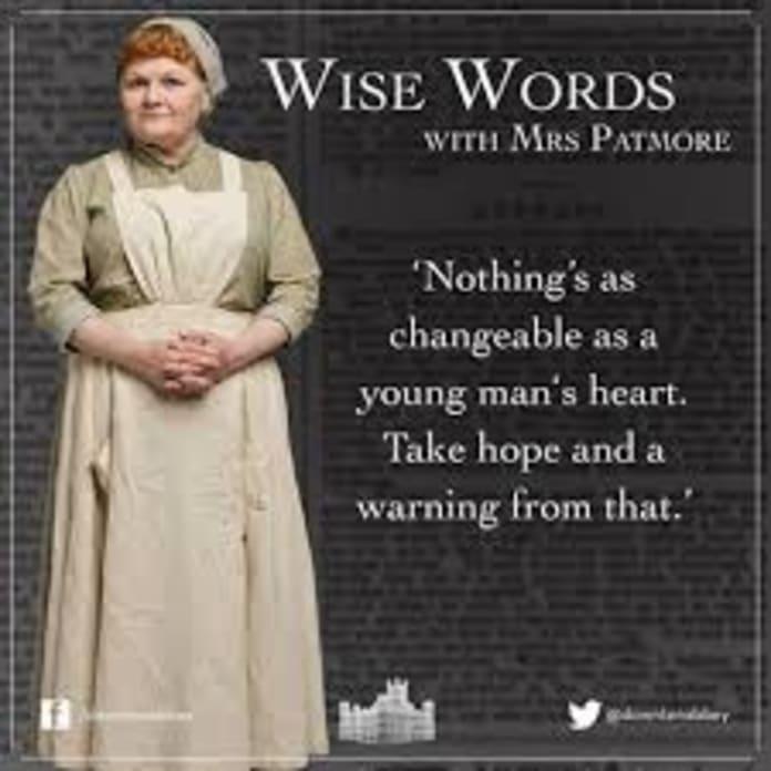 Mrs. Patmore Explains It All - Downton Abbey - TV Fanatic