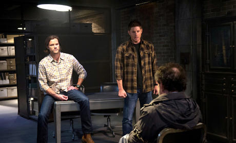 Sam, Dean and Metatron - Supernatural Season 10 Episode 10