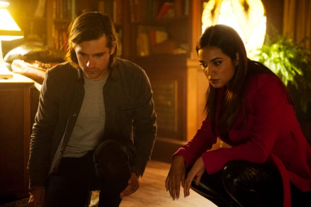 Shell-shocked Quentin and Margo - The Magicians Season 2 Episode 1