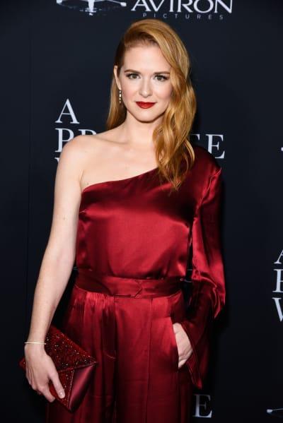 Sarah Drew Attends Movie Premiere