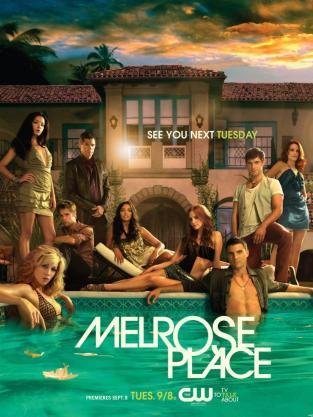 Melrose Place Publicity Poster