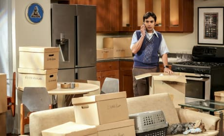 Raj Gets Ready to Move - The Big Bang Theory Season 10 Episode 18