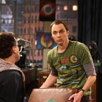 Sheldon is Horrified