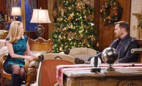 Eve Returns to Visit Brady - Days of Our Lives