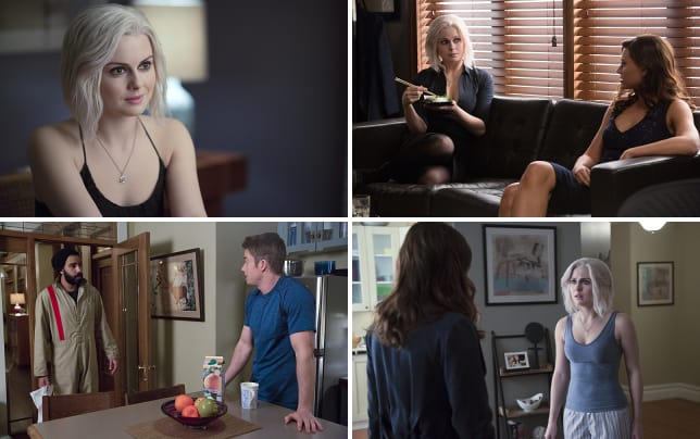 Liv investigates a murder izombie