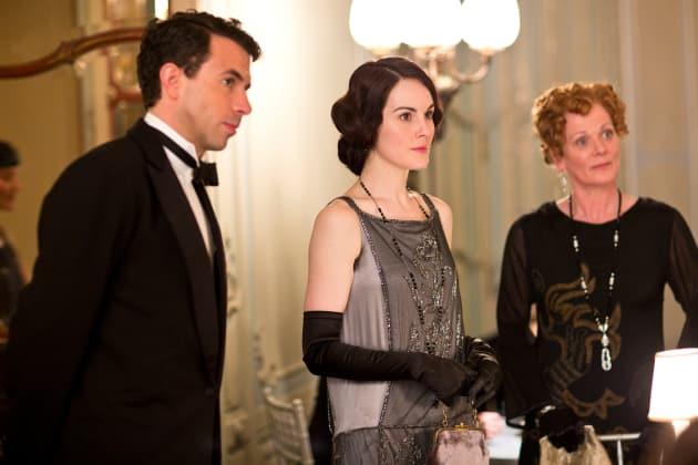 Mary, Gillingham and Rosamund in London DA