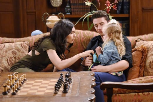 Gaby, Chad and Ari - Days of Our Lives