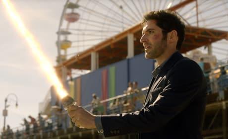Not Having Fun - Lucifer Season 2 Episode 18