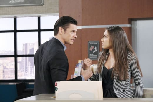 Xander Blames Ciara - Days of Our Lives
