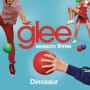Glee cast dinosaur