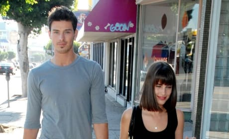 Adam Gregory and Jessica Lowndes