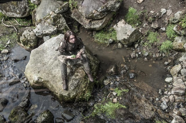 Arya in the Woods