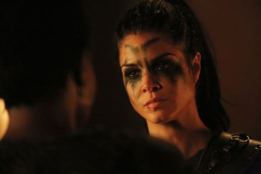 Octavia — The 100 Season 4 Episode 10