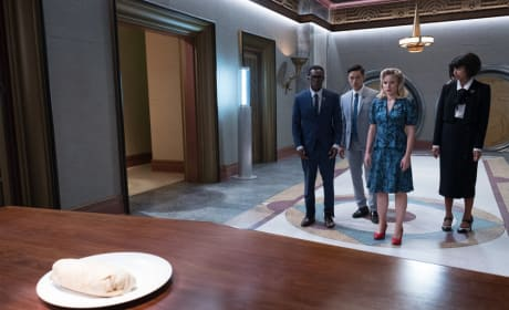 Humans and Burrito - The Good Place Season 2 Episode 12